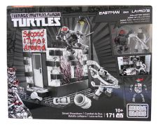 Mega Bloks-DPD79-Ninja Turtles-Raphael and Casey Jones first battle