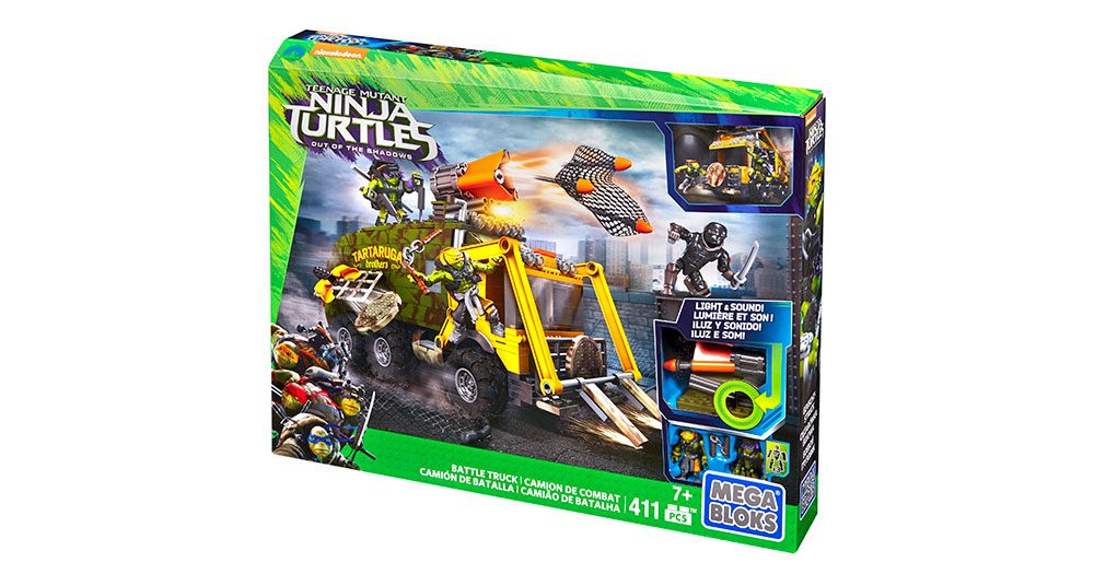 Mega Bloks-DPF82-Ninja Turtles-Battle Truck