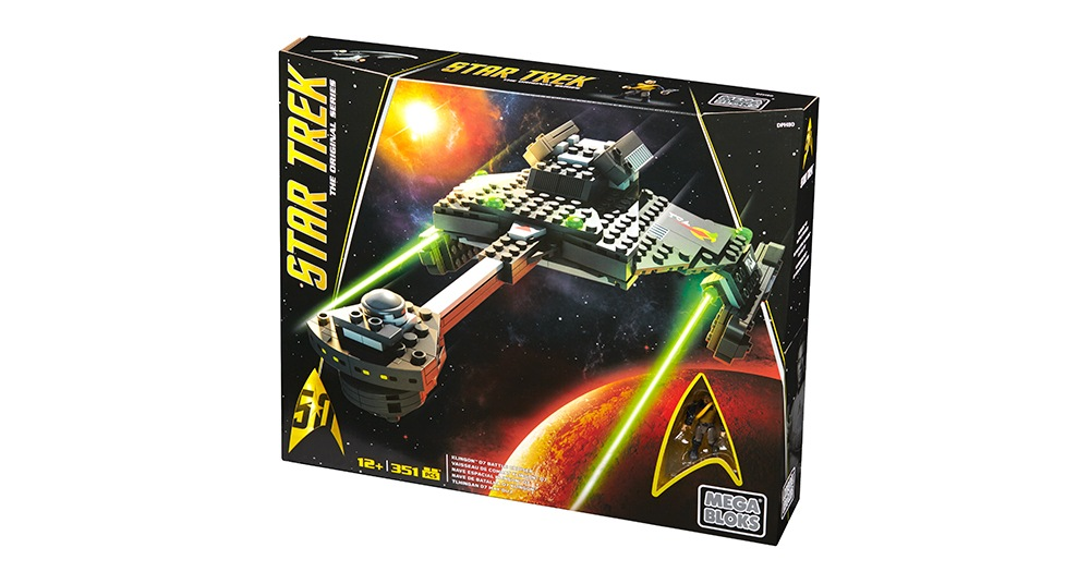 Mega Bloks-DPH80-Star Trek-Klingon™ D7 Battle Cruiser