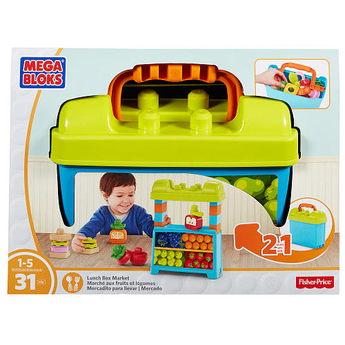Mega Bloks-DPJ54-Basics-Fruit and vegetable market