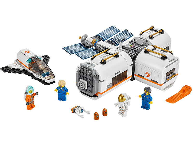 LEGO-60227-City-Lunar Space Station