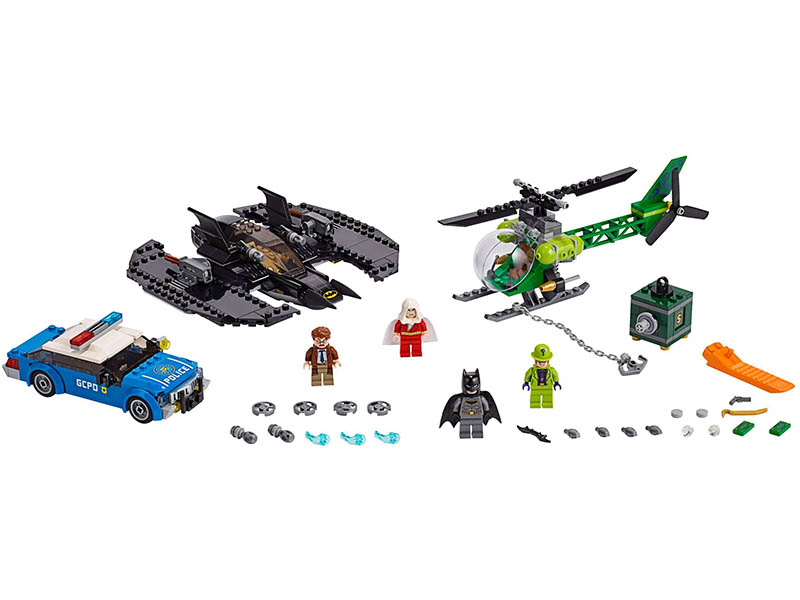 LEGO-76120-DC Comics Super Heroes-Batman Batwing and The Riddler Heist