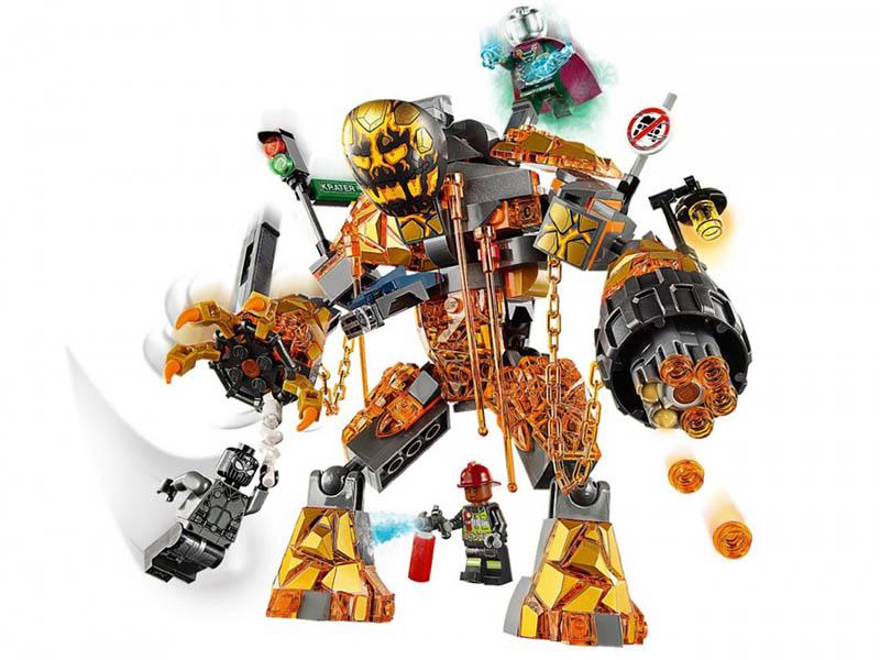 Serie Minifiguras Lego 6 x 1 cabeza para el mecánico de serie 6 piezas