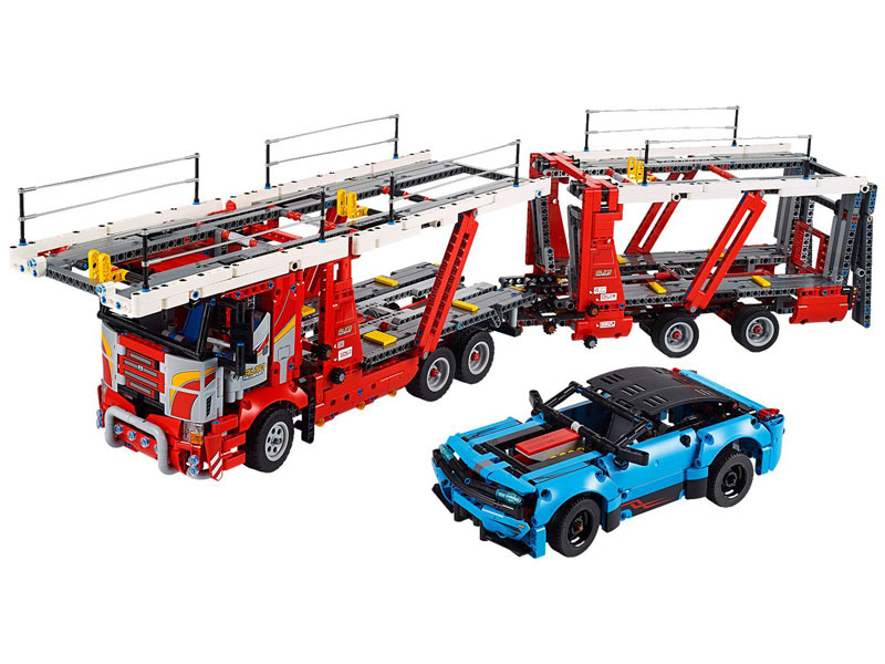 LEGO-42098-Technic-Car Transporter