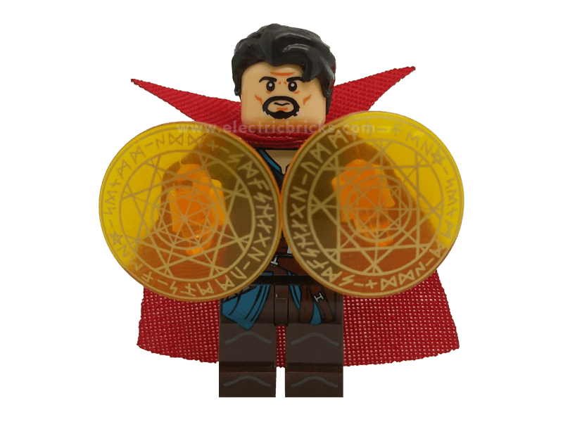 Compatible-mfwSHDocEx2-Superheroes-Minifig World Superhero Doctor Strange 2
