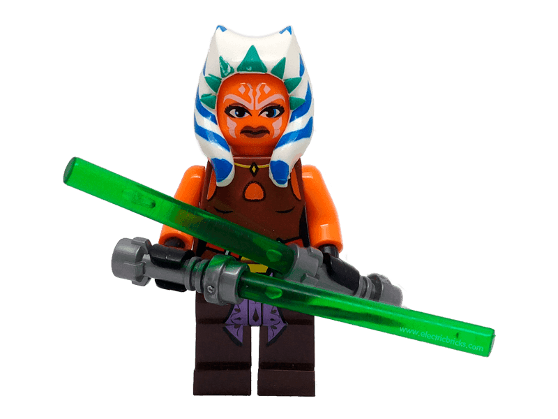 Compatible-mfwSWAhsoka-Star Wars-Minifig World Star Wars Ahsoka Tano