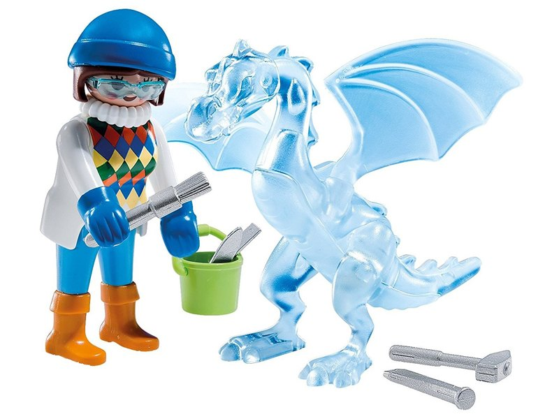 PLAYMOBIL-5374-SPECIAL PLUS-Ice Sculptor