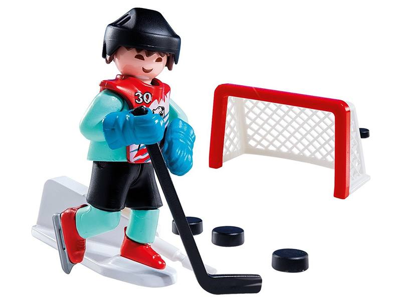PLAYMOBIL-5383-SPECIAL PLUS-Ice Hockey Practice