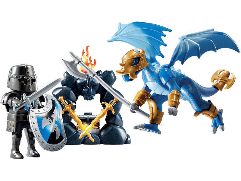 PLAYMOBIL-5657-KNIGHTS-Dragon Knights Carry Case Product No.: 5657