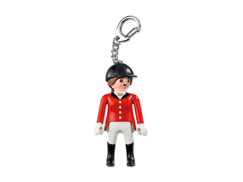 PLAYMOBIL-6617-Country-Equestrienne Keyring