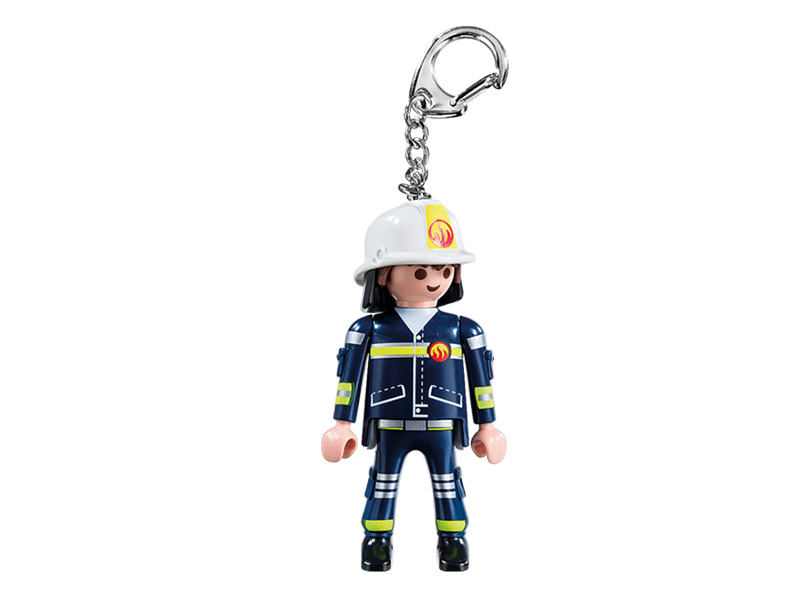 PLAYMOBIL-6664-Other-Fireman Keyring