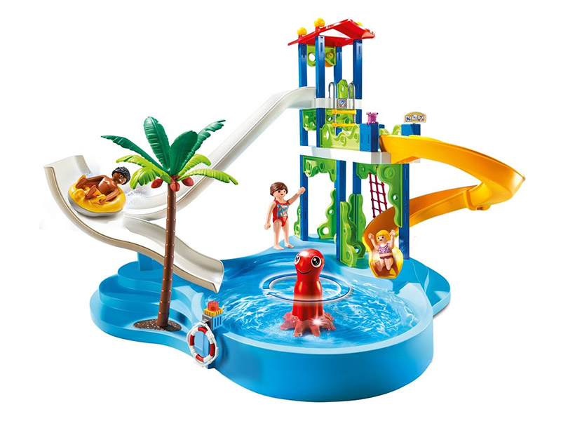 PLAYMOBIL-6669-Summer Fun-Water Park with Slides