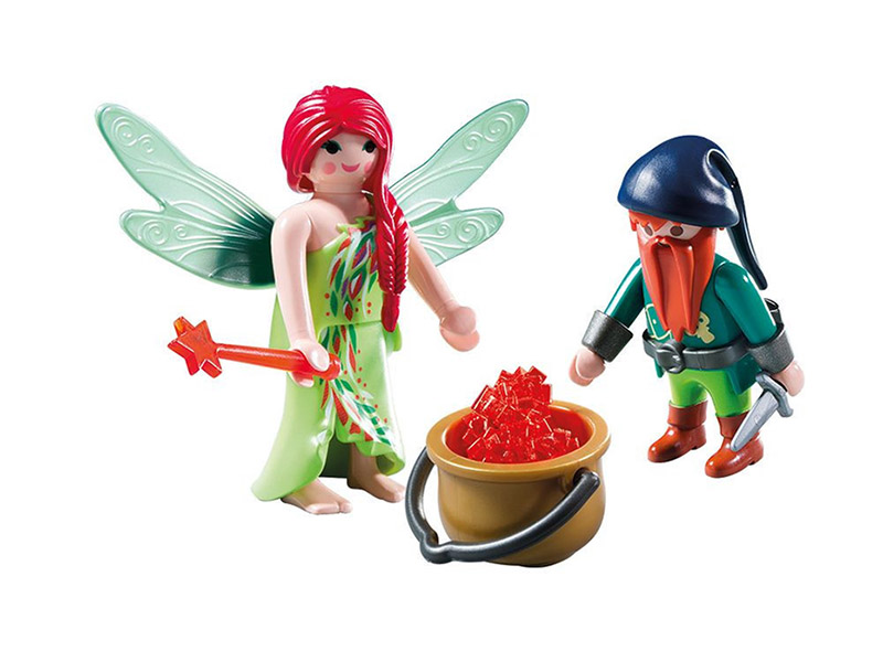PLAYMOBIL-6842-Fairies-Elf and Dwarf Duo Pack