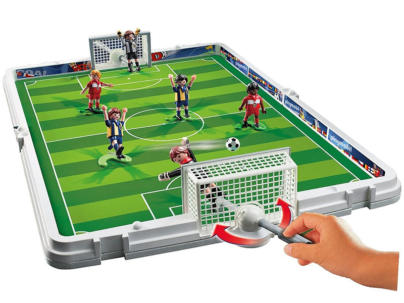 PLAYMOBIL-6857-SPORTS & ACTION-Take Along Football Playset