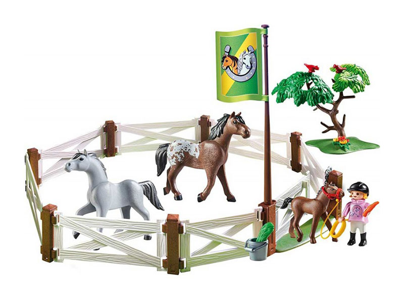 PLAYMOBIL-6931-Country-Horse Paddock