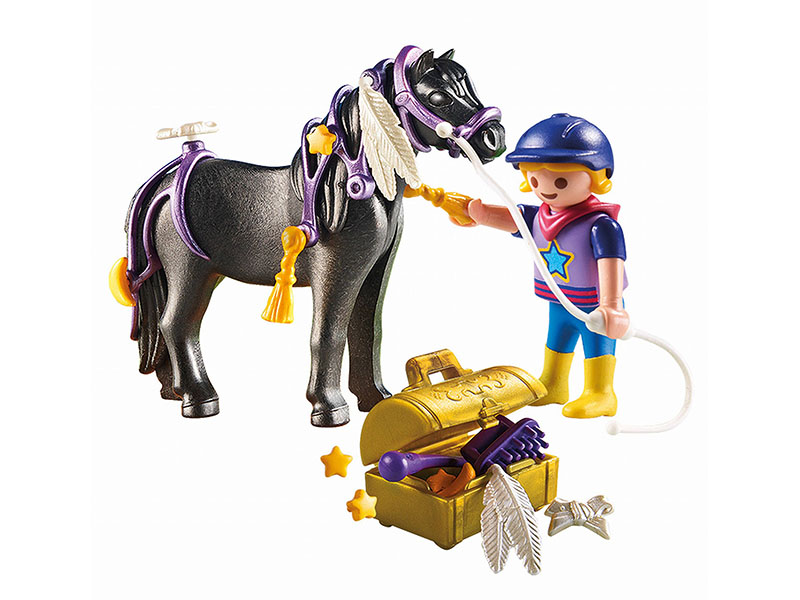 PLAYMOBIL-6970-Country-Groomer with Star Pony