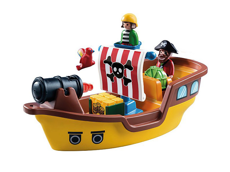 PLAYMOBIL-9118-1.2.3-Pirate Ship