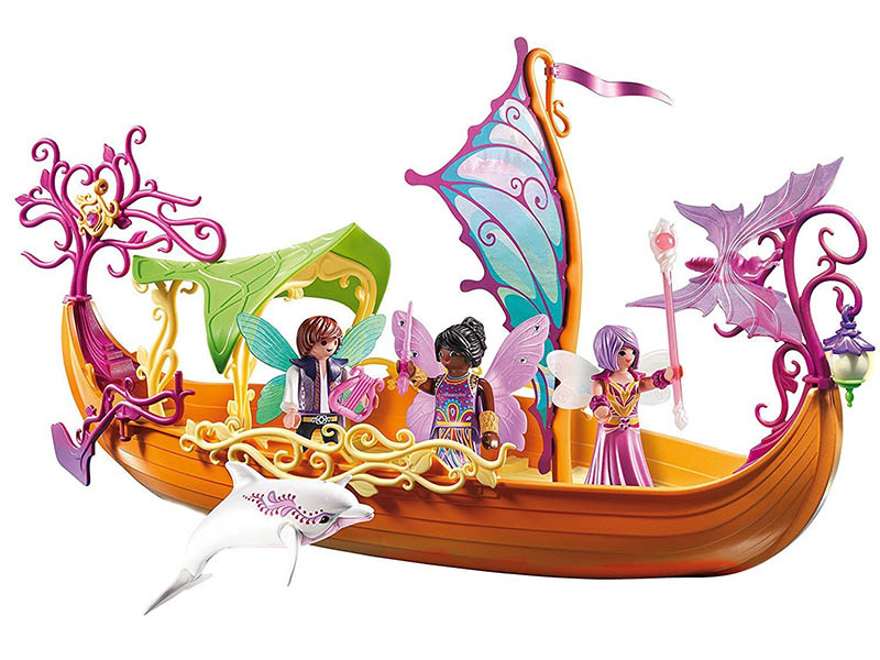 PLAYMOBIL-9133-Fairies-Enchanted Fairy Ship
