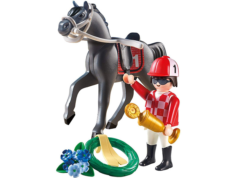 PLAYMOBIL-9261-Country-Jockey