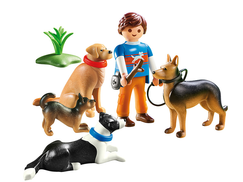 PLAYMOBIL-9279-City Life-Dog Trainer