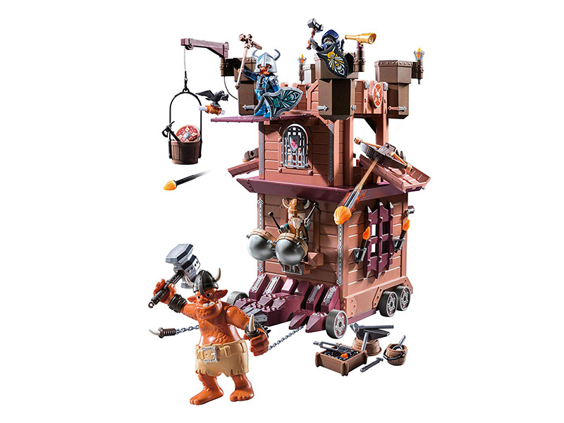 PLAYMOBIL-9340-KNIGHTS-Mobile Dwarf Fortress