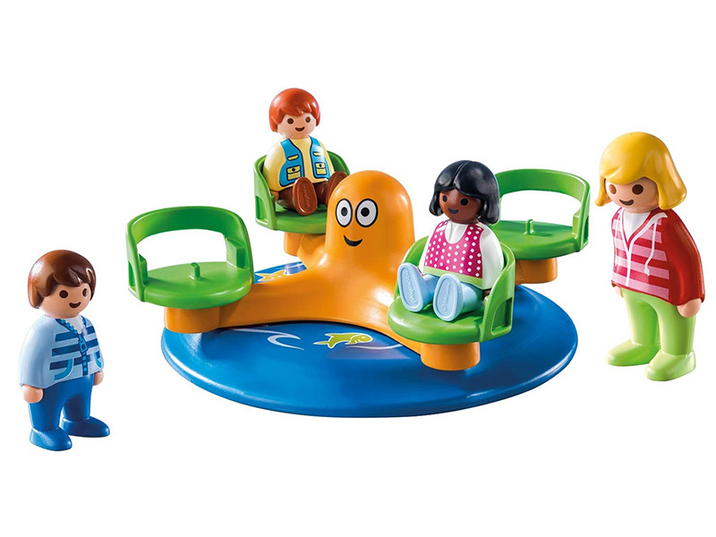PLAYMOBIL-9379-1.2.3-Children's Carousel