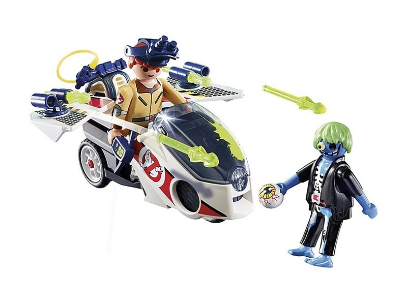 PLAYMOBIL-9388-GHOSTBUSTERS-Stantz with Skybike