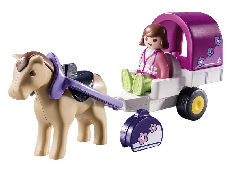 PLAYMOBIL-9390-1.2.3-Horse-Drawn Carriage