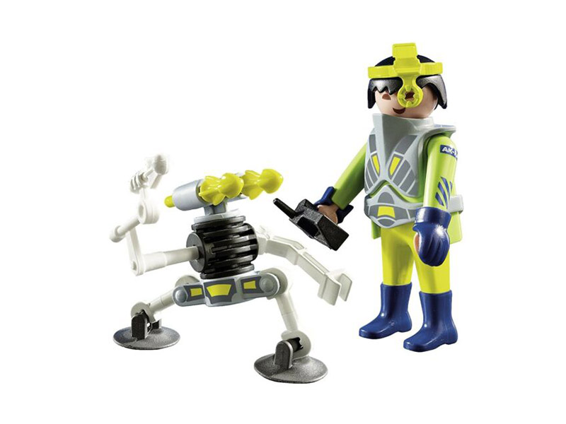 PLAYMOBIL-9416-Other-Space Agent with Robot