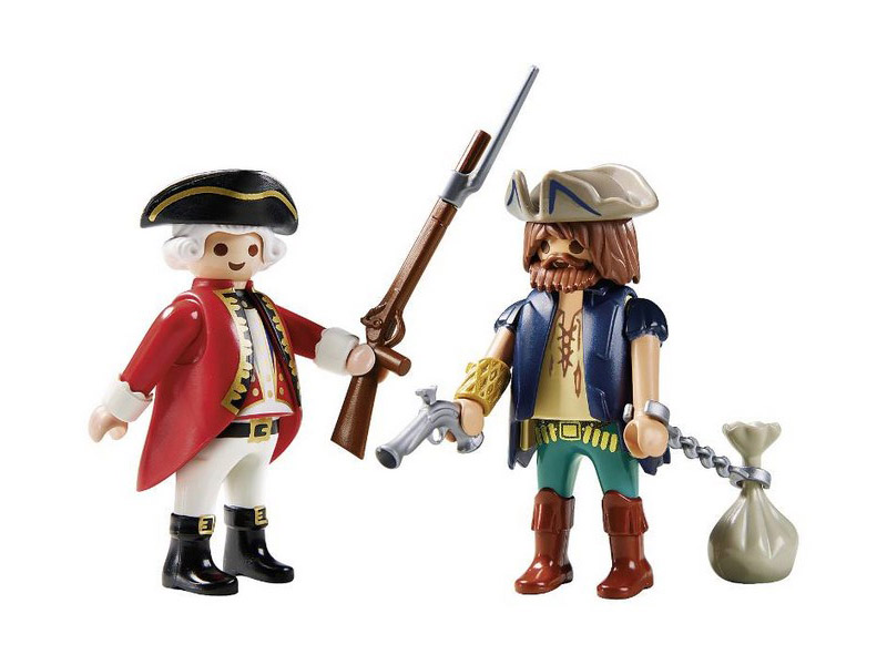 PLAYMOBIL-9446-Pirates-Pirate and Soldier