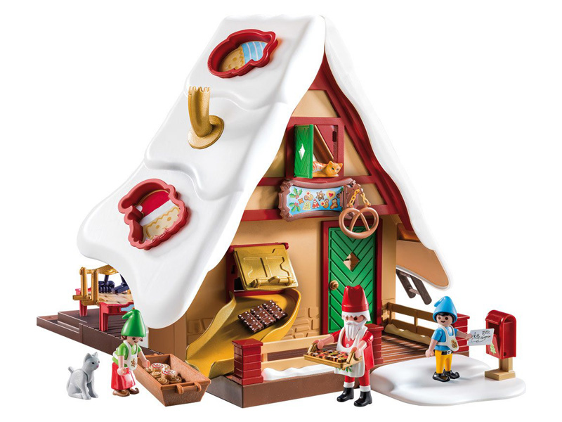 PLAYMOBIL-9493-Christmas-Christmas Bakery with Cookie Cutters