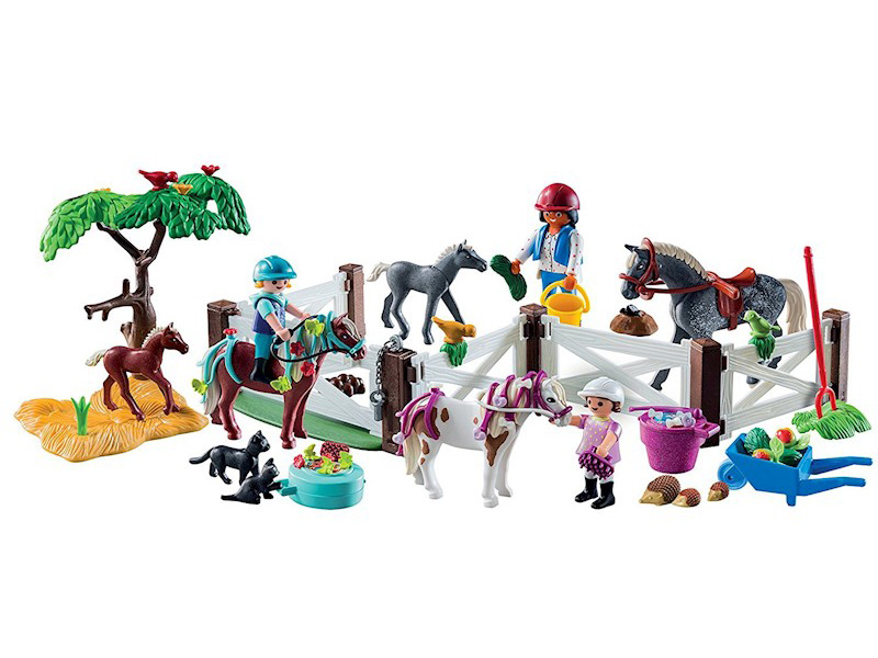 PLAYMOBIL-9262-Other-Advent Calendar - Horse Farm