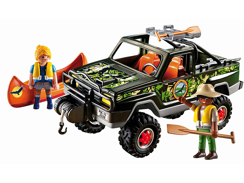 PLAYMOBIL-5558-WILD LIFE-Adventure Pickup Truck