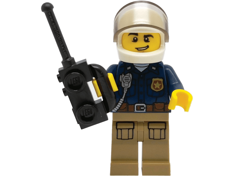 LEGO-Minpolca-City-Minifigure Police with Helmet