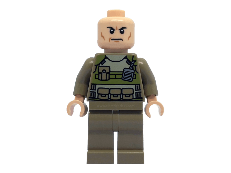 LEGO-sh079-Super Heroes-Colonel Hardy
