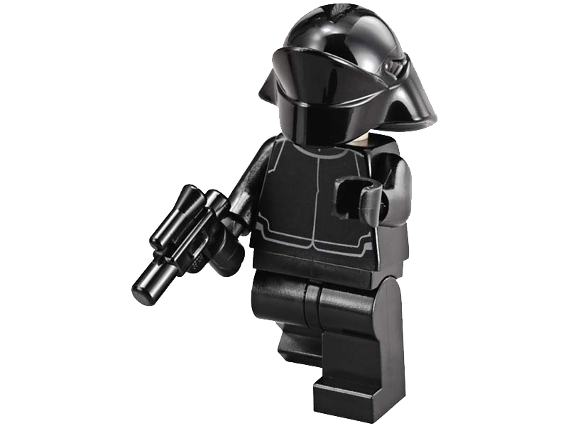 LEGO-sw0671-Star Wars-First Order Crew Member / Gunner (Light Flesh Head)