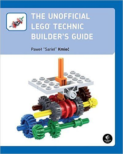 No Starch Press-978-15932743-Libros-The Unofficial LEGO Technic Builder's Guide