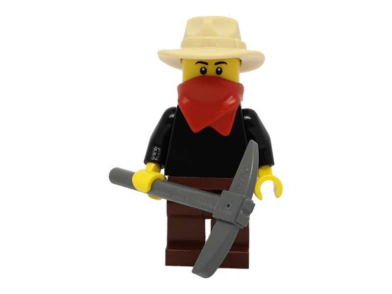 LEGO-ww009--Minifigure ww009 Gold Prospector - Male