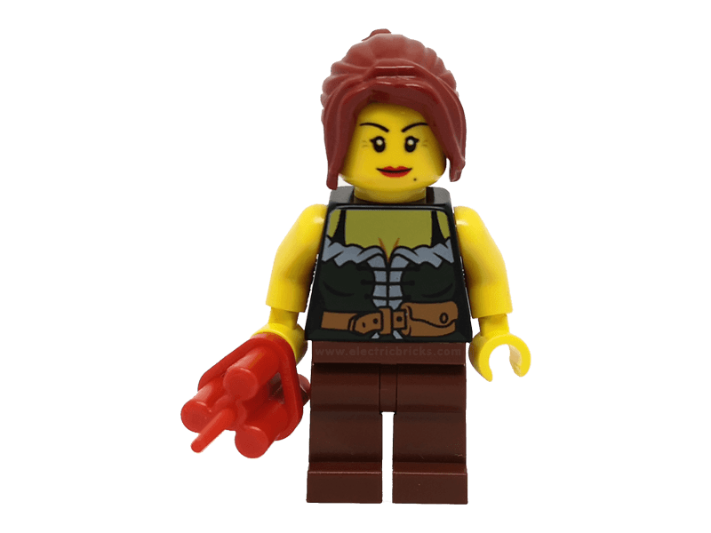 LEGO-ww015--Minifigure ww015 Gold Prospector - Female