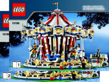 Original Instructions for Set 10196 - Grand Carousel