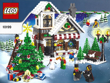 Original Instructions for Set 10199 - Winter Toy Shop