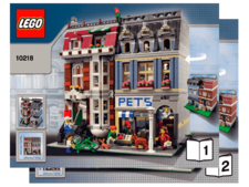 Original Instructions for Set 10218 - Pet Shop