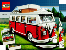 Original Instructions for Set 10220 - Volkswagen T1 Camper Van (VW Bus)