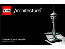 Original Instructions for Set 21003 - Seattle Space Needle