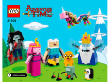 Original Instructions for Set 21308 - Adventure Time