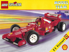 Original Instructions for Set 2556 - Ferrari Formula 1 Racing Car
