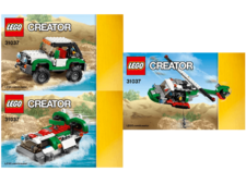 Original Instructions for Set  31037 - Adventure Vehicles
