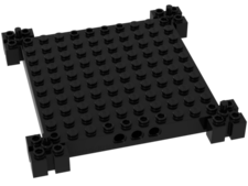 Black Brick, Modified 12 x 12 Base