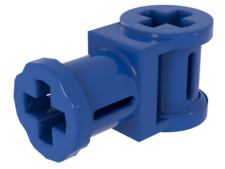 Blue Technic, Axle Connector with Axle Hole