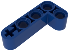 Blue Technic, Liftarm 2 x 4 L-Shape Thick